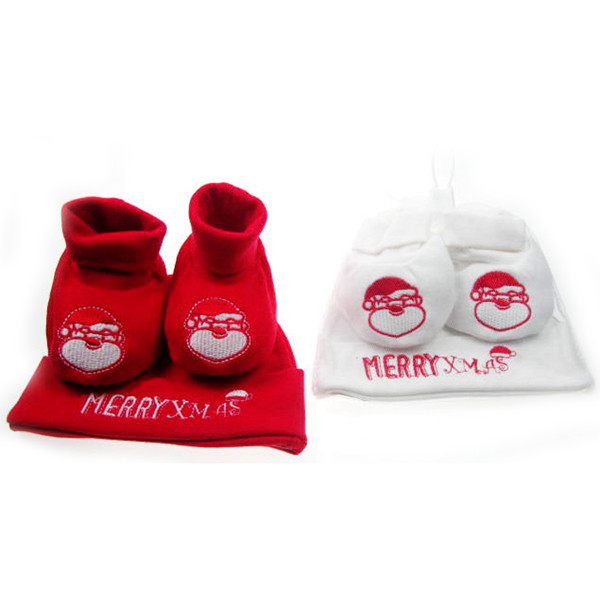 My First Christmas Hat   Booties - Boutique Baby 436d56eb4e2