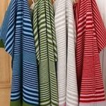 Striped lambswool blankets