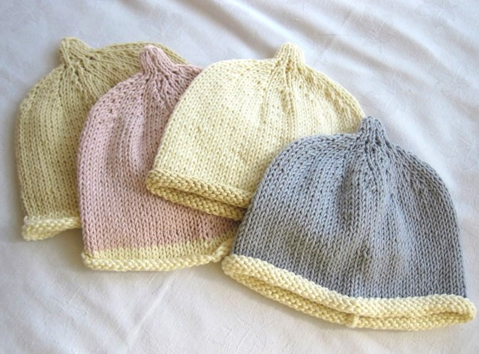 Organic Cotton Knitted Beanie Hat Boutique Baby