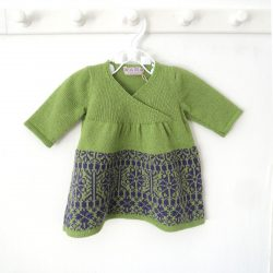 Green Purple dress2