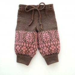 Nut Brown Pink joggers